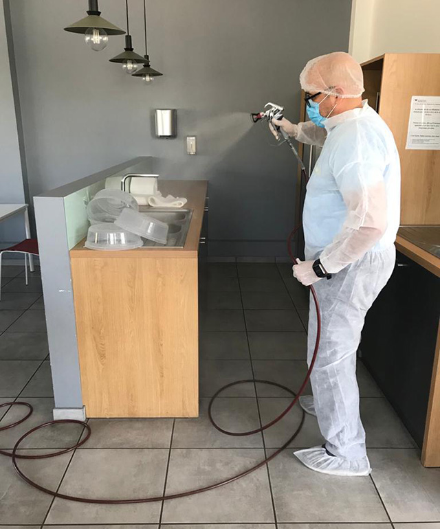 Nettoyage et désinfection des cuisines