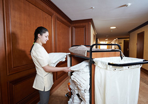 Nettoyage hôtellerie
