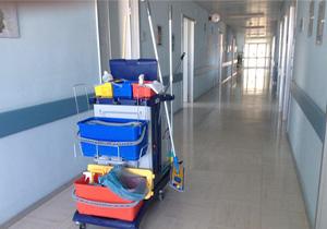 Nettoyage des couleurs dans établissements de santé