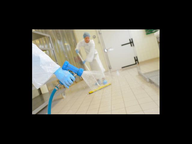 Nettoyage des sols établissements de santé