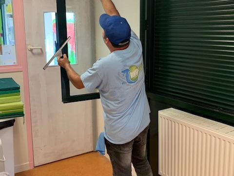 Nettoyage et entretien des vitres