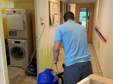 Nettoyage établissement de santé
