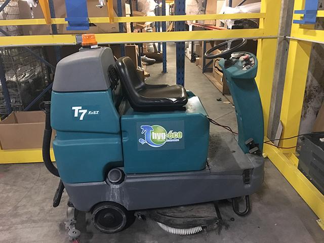 Machine pour nettoyage industriel