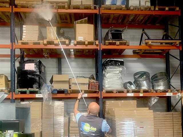 Nettoyage des industries, usines, entrepôts