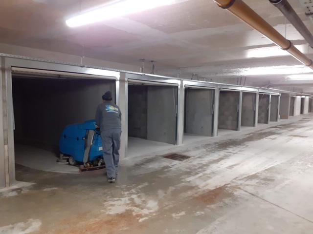 Nettoyage industriel parking