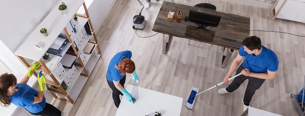 Nettoyage des bureaux professionnels