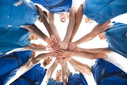Collaborateurs motivés pour la qualité clients