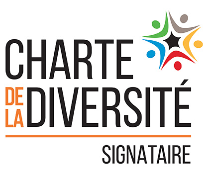 Logo charte de la diversité signataire